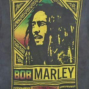 Other - 📀 🎶 Bob Marley Rasta Reggae Black T-shirt Large